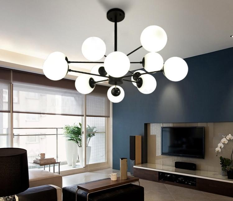 展示処分品 インダストリアル 12灯式ペンダントライト 長さ3パターン対応 吊り下げランプ アンティークW7_画像2
