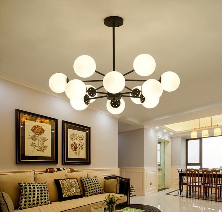 展示処分品 インダストリアル 12灯式ペンダントライト 長さ3パターン対応 吊り下げランプ アンティークW7_画像6