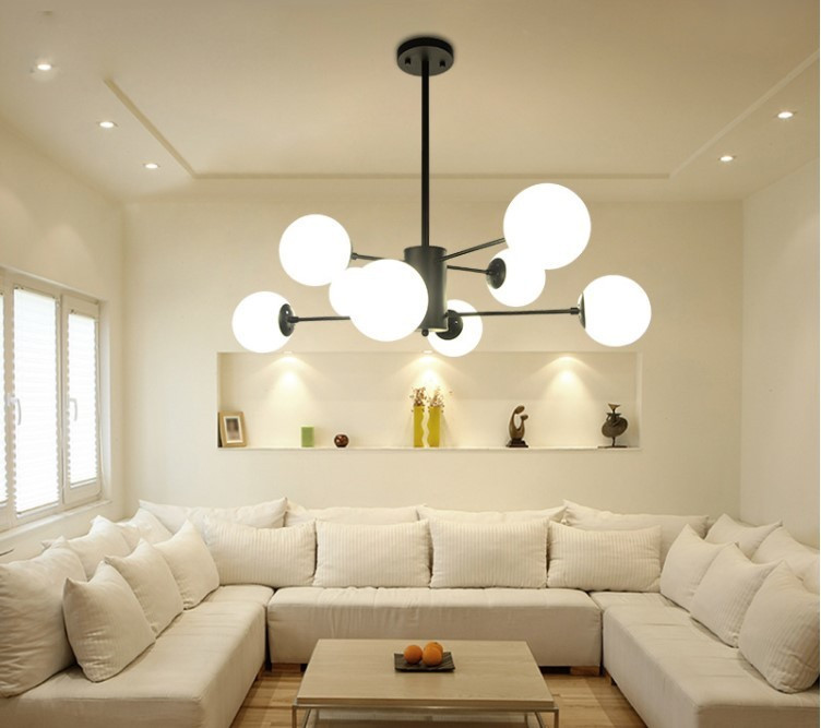 展示処分品 インダストリアル 12灯式ペンダントライト 長さ3パターン対応 吊り下げランプ アンティークW7_画像4