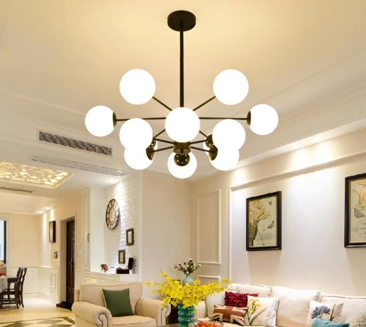 展示処分品 インダストリアル 12灯式ペンダントライト 長さ3パターン対応 吊り下げランプ アンティークW7