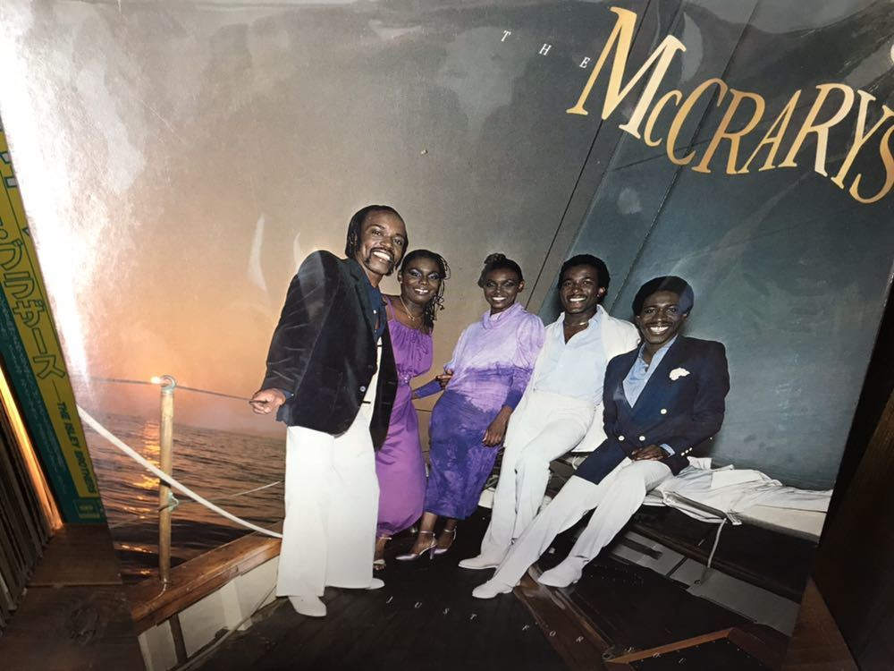 The McCRARYS JUST FOR YOU LP ナイスメロウソウル~AOR 名盤_画像1