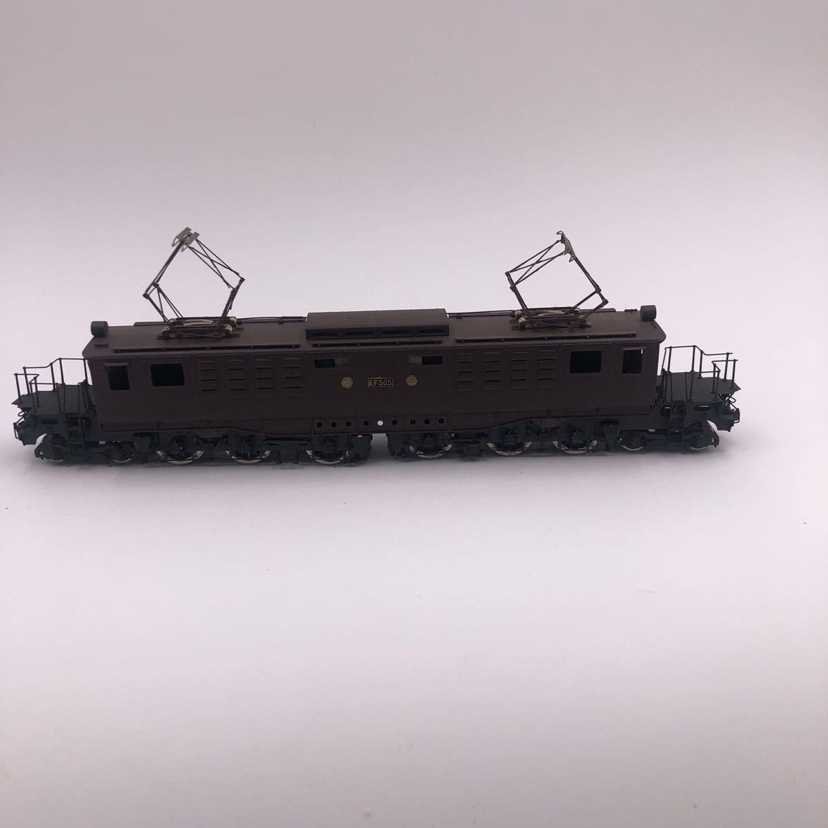 ピノチオ 国鉄 EF50 直流電気機関車 HOゲージ_画像6