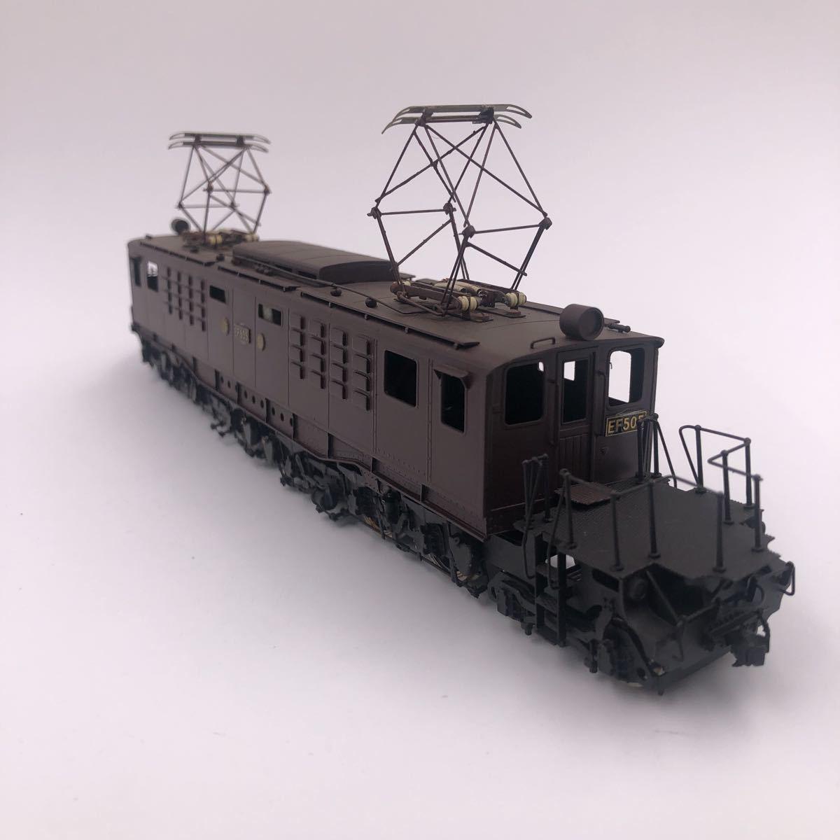ピノチオ 国鉄 EF50 直流電気機関車 HOゲージ_画像2