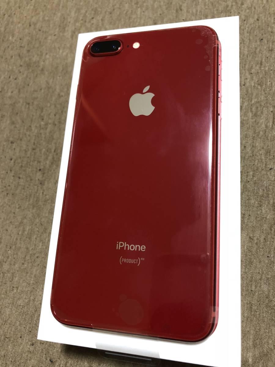 【新品未使用】SIMフリー(SIMロック解除済) Apple iPhone8 plus 64GB レッド red SoftBank(ソフトバンク)_画像4