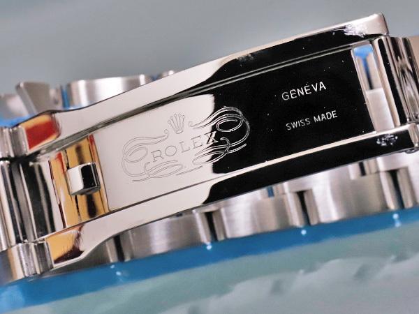 新品仕上品 ロレックス ROLEX ミルガウス 純正ステンレスブレスレット 72400 エクステンション付き 腕時計メタルブレス SSブレス 本物 正規_画像4