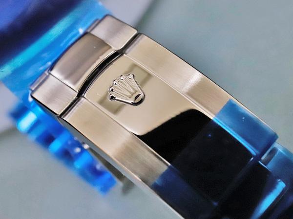 新品仕上品 ロレックス ROLEX ミルガウス 純正ステンレスブレスレット 72400 エクステンション付き 腕時計メタルブレス SSブレス 本物 正規_画像3