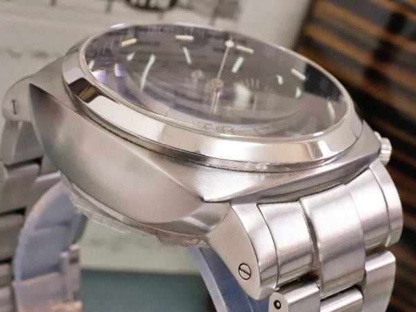 極上品 RXW ROCKX サンドイッチ文字盤 プラズミール ミルグラフ 3カウンター クロノ メンズウォッチ 男性用腕時計 箱 保証書付 本物 正規_画像5