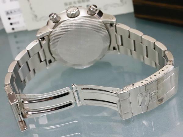 極上品 RXW ROCKX サンドイッチ文字盤 プラズミール ミルグラフ 3カウンター クロノ メンズウォッチ 男性用腕時計 箱 保証書付 本物 正規_画像6