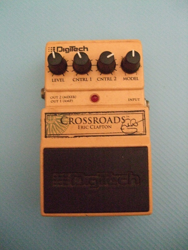 デジテックのエリック・クラプトン モデリングエフェクター・(DigiTech CROSSROADS Eric Clapton) の中古です