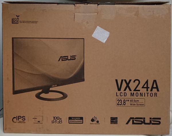1円スタート ASUS VX24AH ブルーライト軽減 ディスプレイ 23.8型 WQHD IPS フレームレスデザイン フリッカーフリー_画像10
