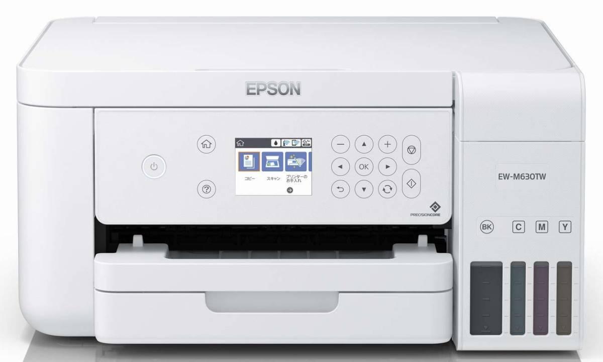 未開封◆エプソン プリンター EW-M630TW インクジェットプリンター エコタンク搭載 ホワイト EPSON
