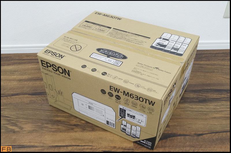 未開封◆エプソン プリンター EW-M630TW インクジェットプリンター エコタンク搭載 ホワイト EPSON_画像2