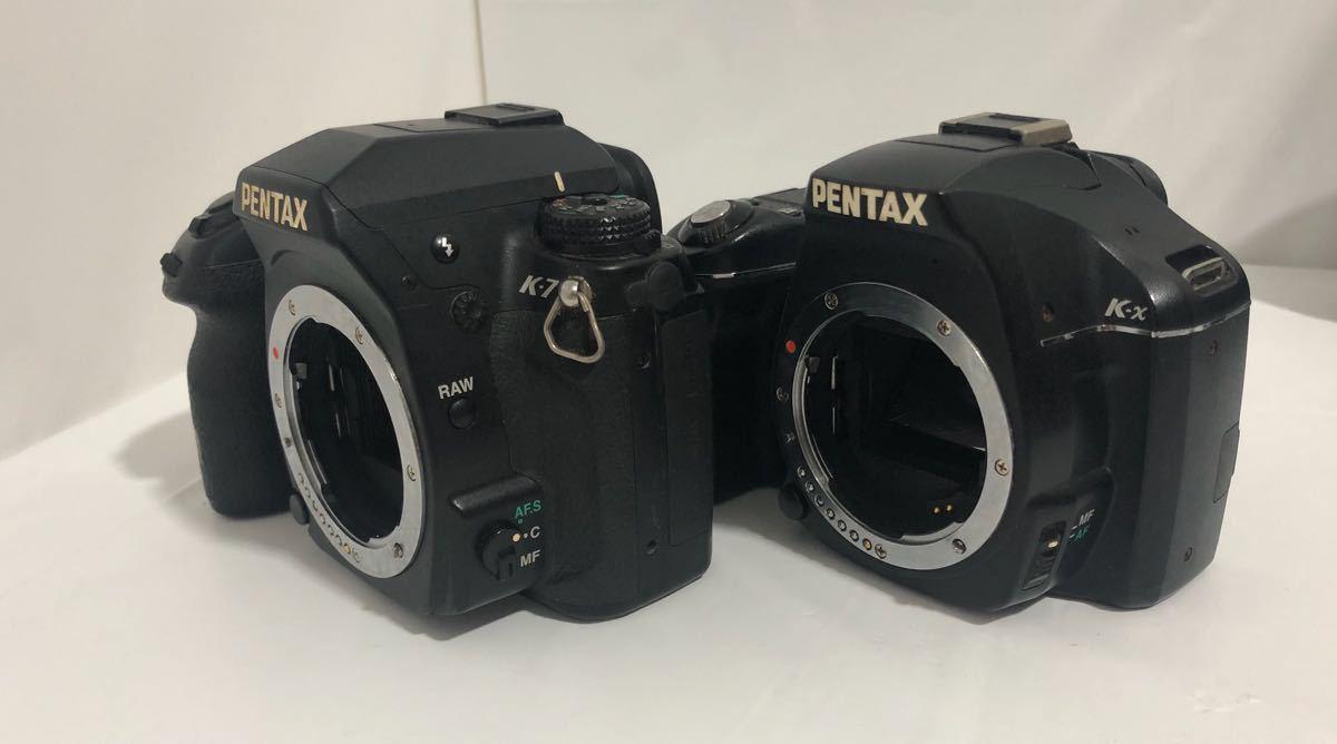 ペンタックス カメラ K-7 K-x レンズ タムロン 28-300㎜ 1:3.5-6.3 MACRO ペンタックス 18-55㎜ 1:3.5-5.6 他 セット_画像4