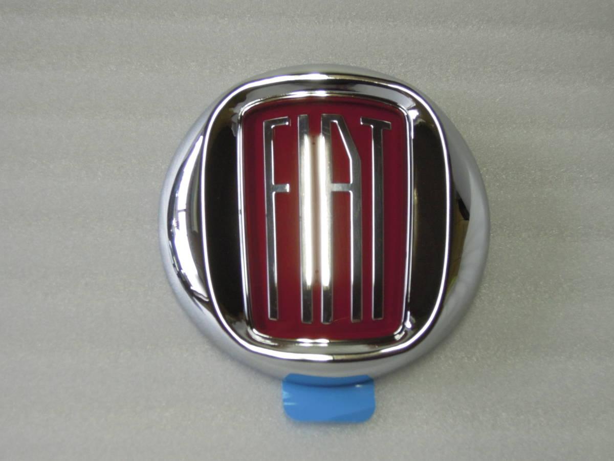 レア!Fiat 500 フィアット500 Vintage '57 エンブレムフロント・リアセット 新品_フロント用