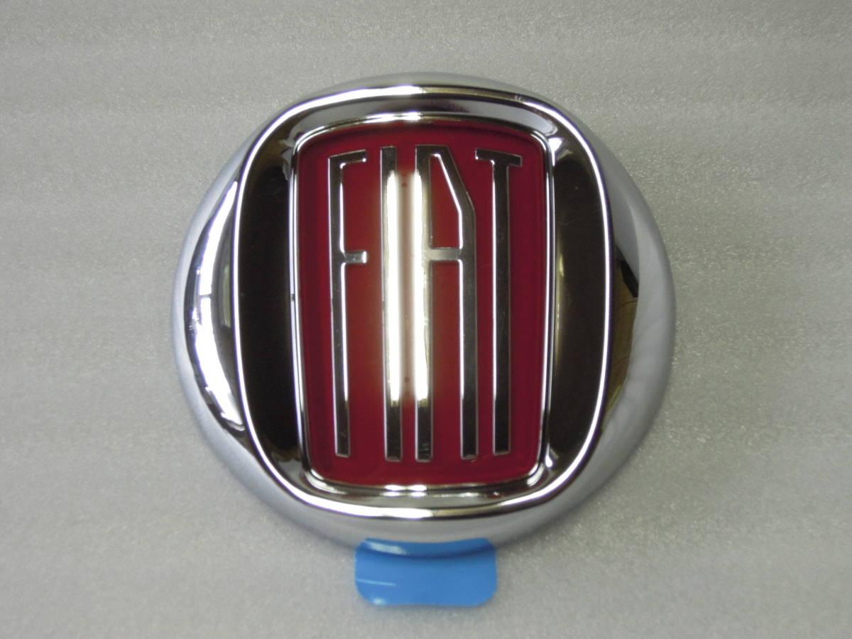 レア!Fiat 500 フィアット500 Vintage '57 エンブレムフロント・リアセット 新品_リア用