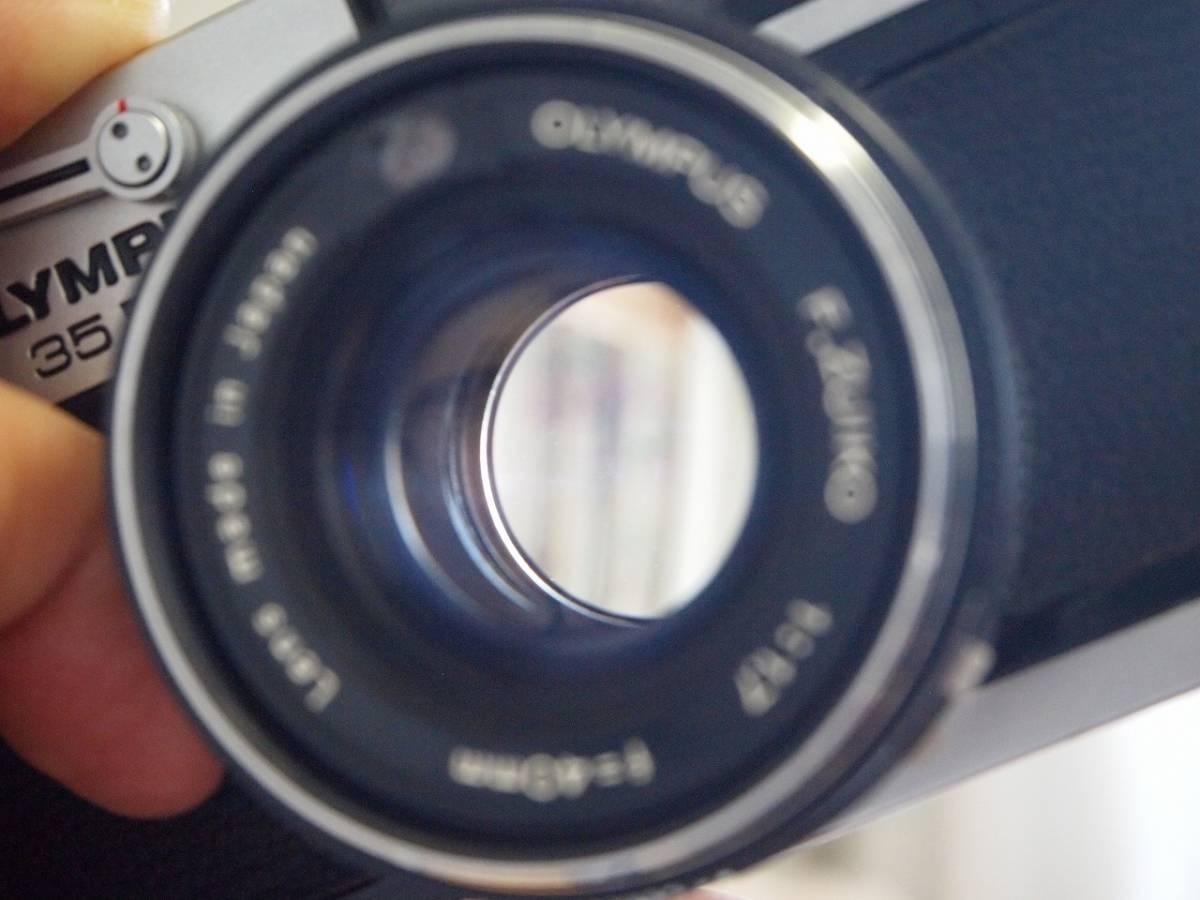 オリンパス35RD(輸出専用。希少品。元箱付き)_画像6