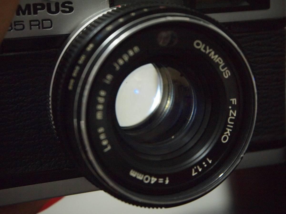 オリンパス35RD(輸出専用。希少品。元箱付き)_画像5