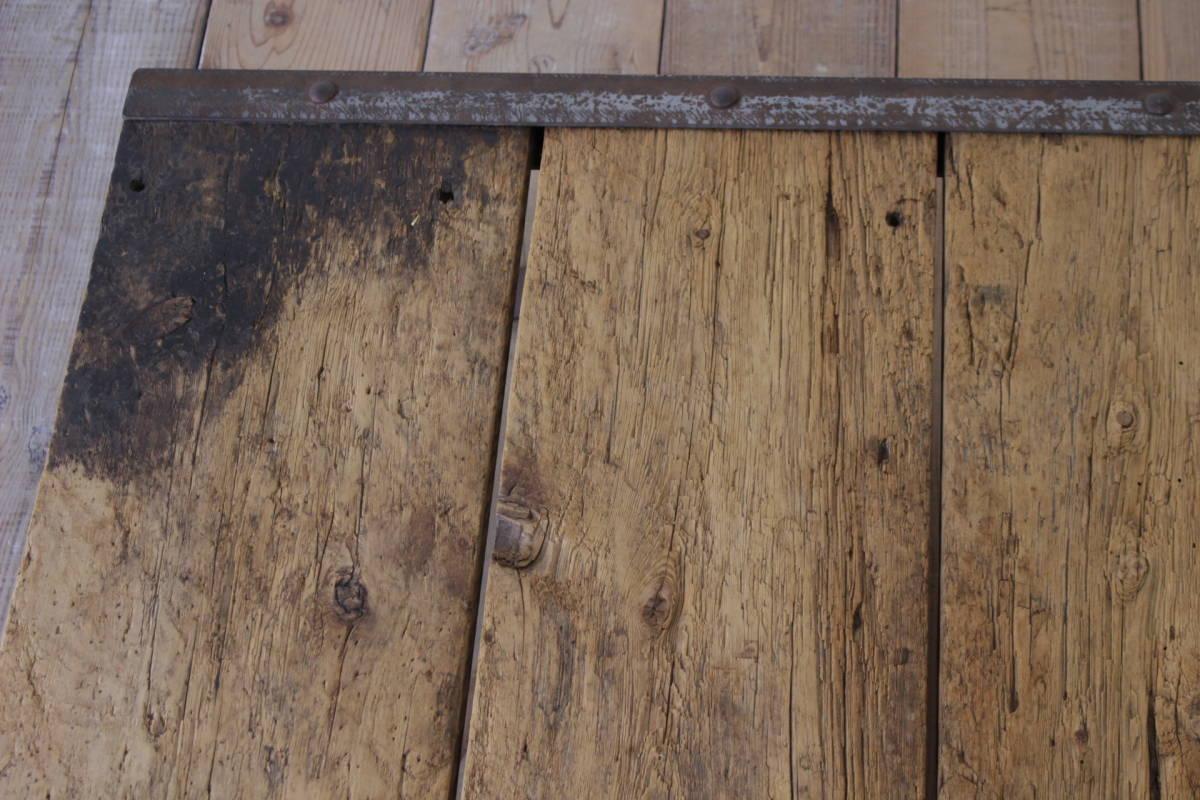 ビンテージ パレット ローテーブル センター 花台 無垢材 ディスプレイ ガーデニング/トローリーアンティークオールドリフト/ICT05027_画像9