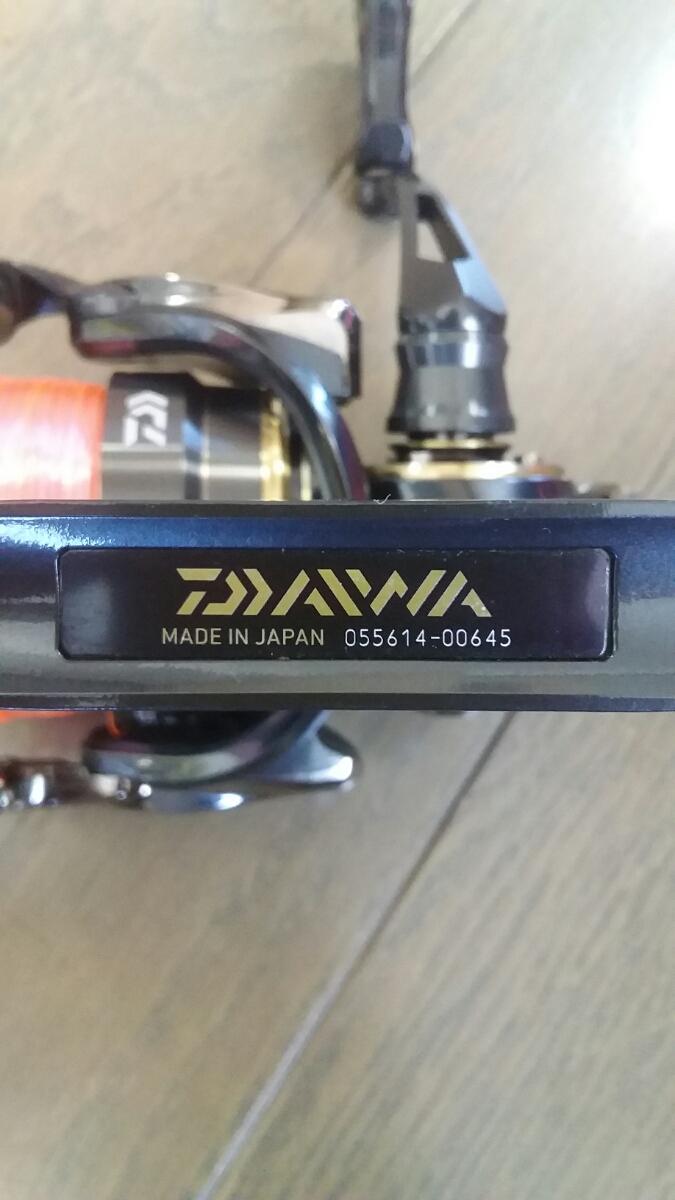 15 イグジスト 2505F ダイワ 1つテンヤマダイ シーバス エギング メバル アジング_画像4