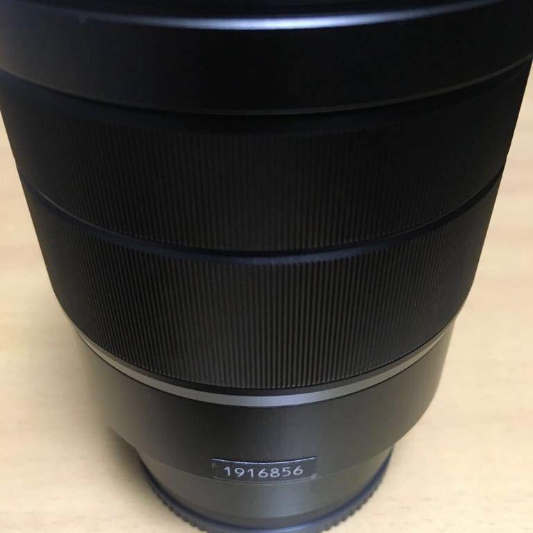 【美品】SONY ズームレンズ Vario-Tessar T* FE 16-35mm F4 ZA OSS Eマウント35mmフルサイズ対応 SEL1635Z_画像7