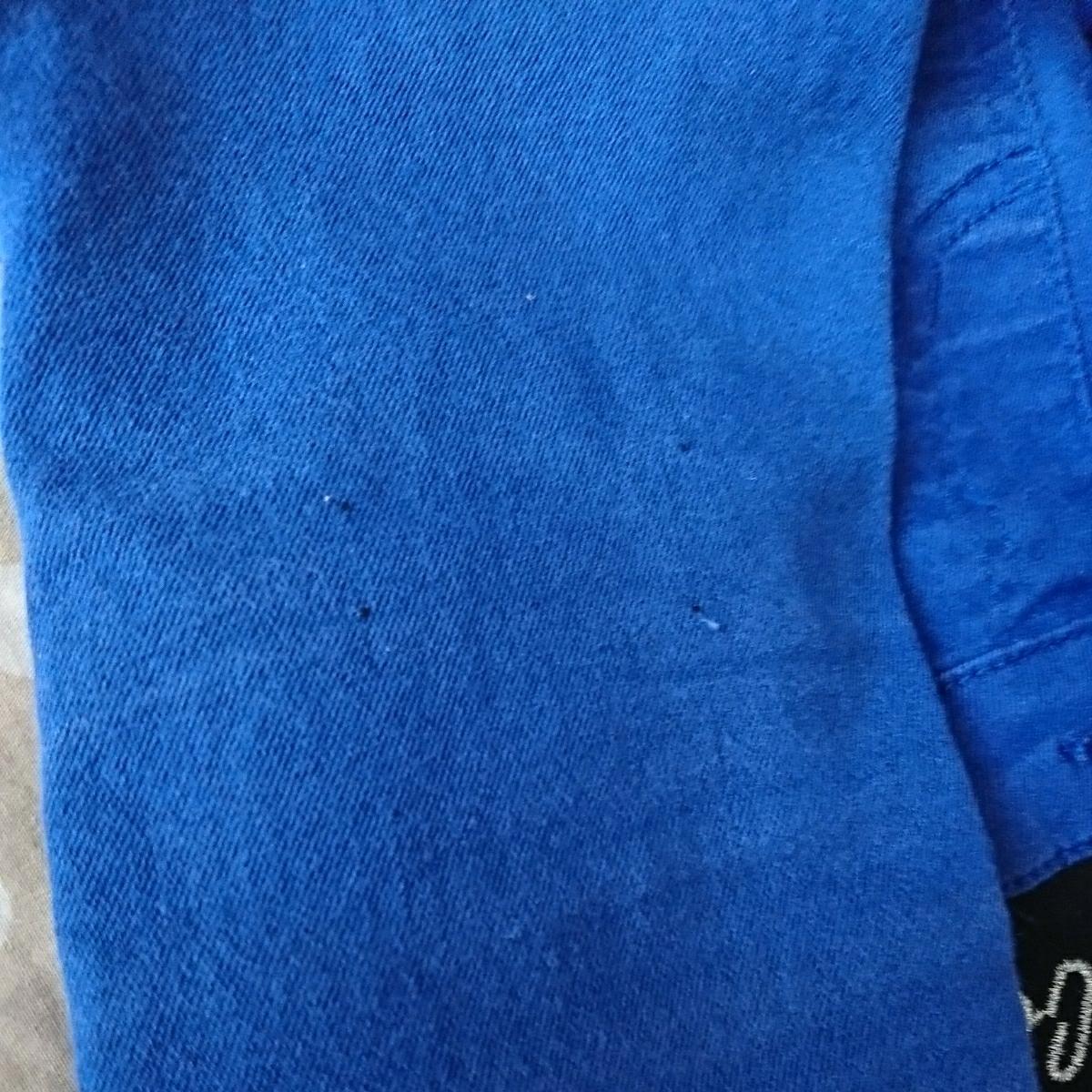 かっこいいパンツ 女の子 ズボン 長ズボン スキニー ストレッチ 130㎝ ブルー 青 子供服_画像7