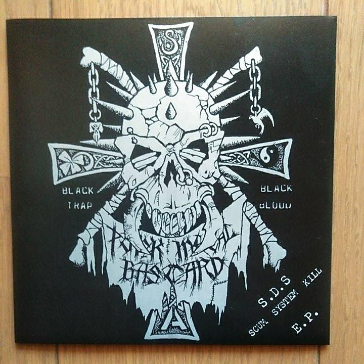 S.D.S. SCUM SYSTEM KILL 7inch レコード