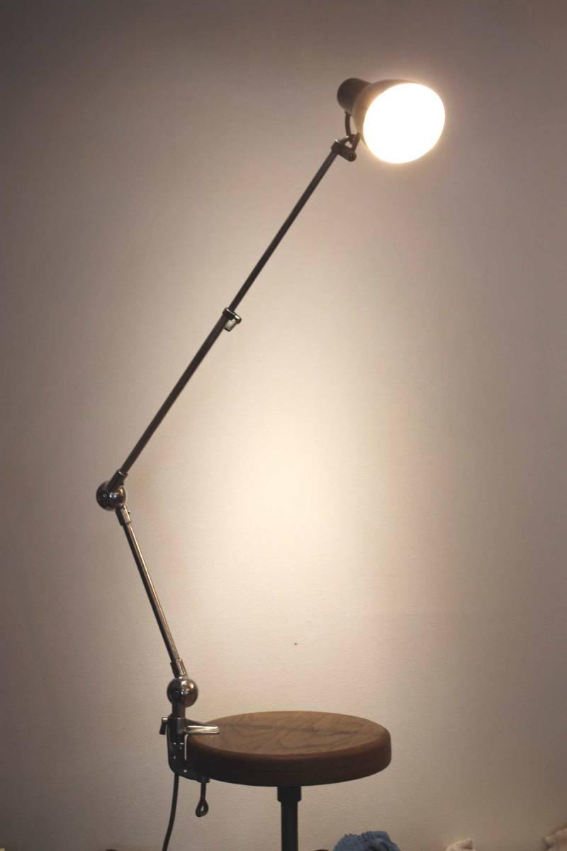 特別企画!1円スタート!Miller Polished Lumina フランス ライト ランプ アトリエランプ インダストリアル アンティーク JIELDE GRAS