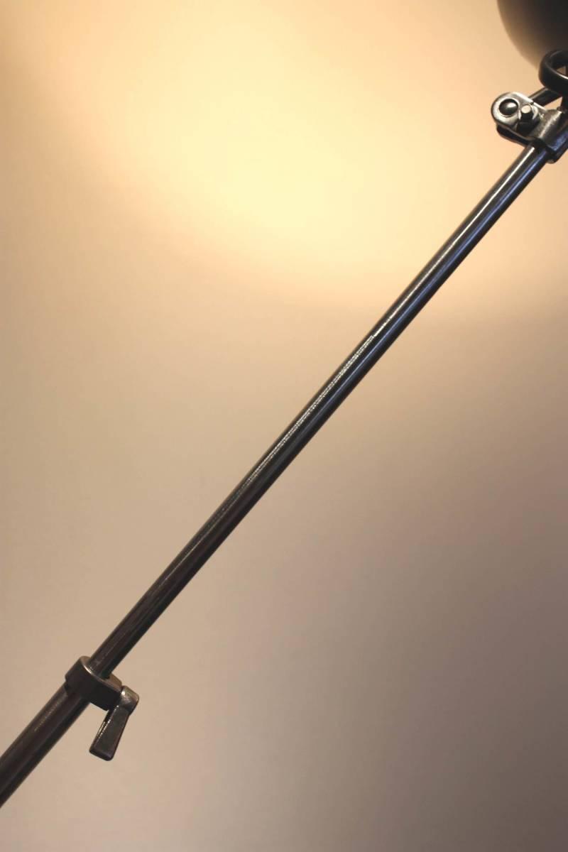 特別企画!1円スタート!Miller Polished Lumina フランス ライト ランプ アトリエランプ インダストリアル アンティーク JIELDE GRAS _画像4