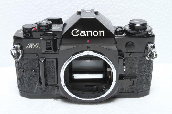 ★訳あり外観極上品★キャノン Canon A-1 ボディ ブラック★綺麗な外観 露出計OK 超希少★22420_画像2