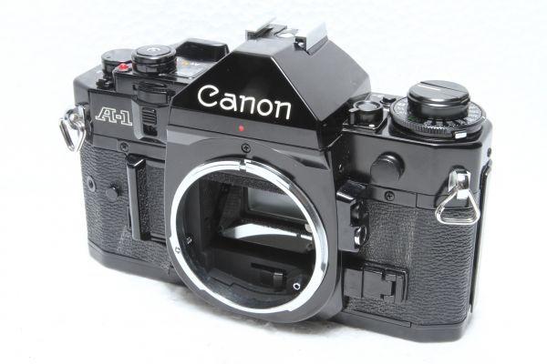 ★訳あり外観極上品★キャノン Canon A-1 ボディ ブラック★綺麗な外観 露出計OK 超希少★22420