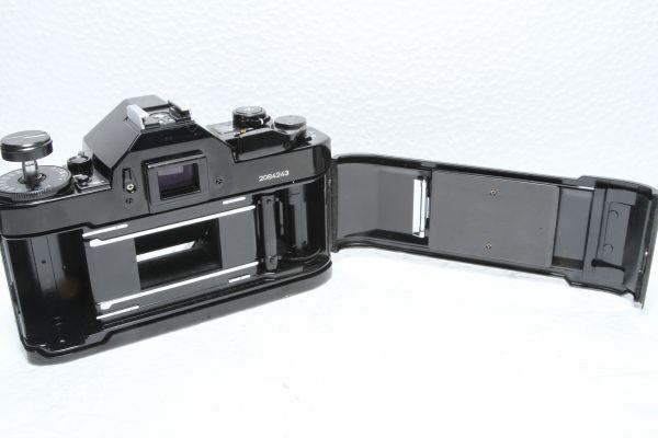 ★訳あり外観極上品★キャノン Canon A-1 ボディ ブラック★綺麗な外観 露出計OK 超希少★22420_画像4