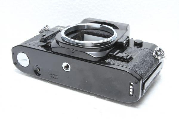 ★訳あり外観極上品★キャノン Canon A-1 ボディ ブラック★綺麗な外観 露出計OK 超希少★22420_画像6