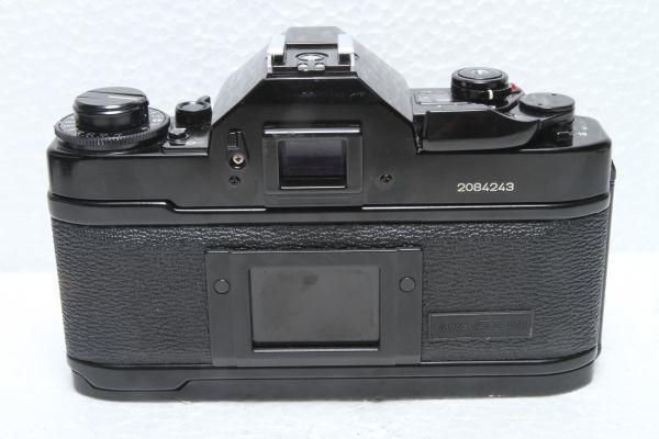 ★訳あり外観極上品★キャノン Canon A-1 ボディ ブラック★綺麗な外観 露出計OK 超希少★22420_画像3