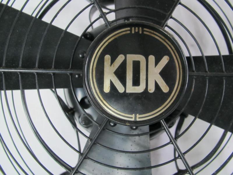 ■鉄製の古い扇風機 川北電機製作所製 時代箱入り 動作未確認_画像5