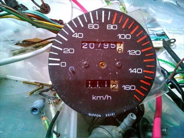 GB250 CBX250RS カフェレーサー タイヤ山十分_画像10