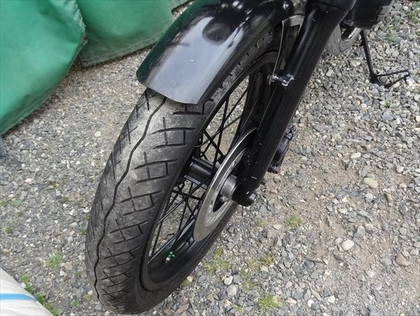 GB250 CBX250RS カフェレーサー タイヤ山十分_画像7