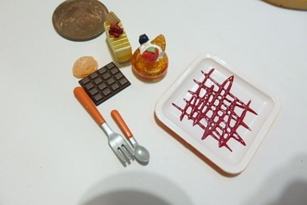 ★H444☆ミニチュア ケーキ デザート☆ドールハウス メガハウス カフェdeケーキ_画像3