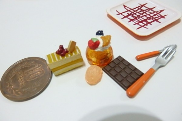 ★H444☆ミニチュア ケーキ デザート☆ドールハウス メガハウス カフェdeケーキ_画像4