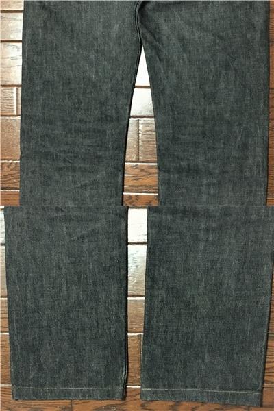リーバイス Levi's 505 w32 ブラック ジーンズ 黒 デニム パンツ 日本製 ジッパーフライ ジーパン アメカジ 古着_画像10