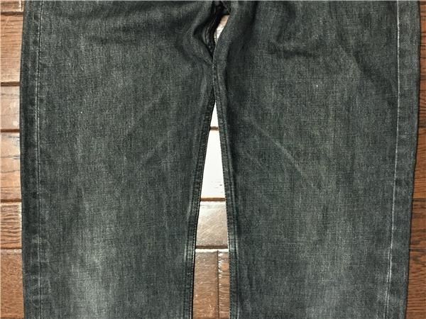 リーバイス Levi's 505 w32 ブラック ジーンズ 黒 デニム パンツ 日本製 ジッパーフライ ジーパン アメカジ 古着_画像6
