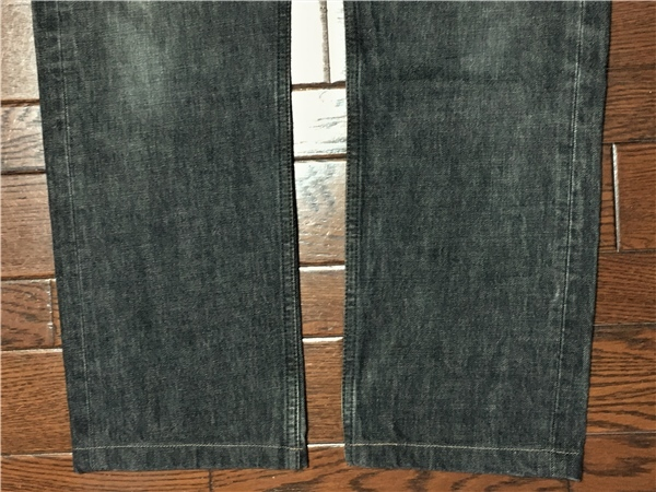 リーバイス Levi's 505 w32 ブラック ジーンズ 黒 デニム パンツ 日本製 ジッパーフライ ジーパン アメカジ 古着_画像8