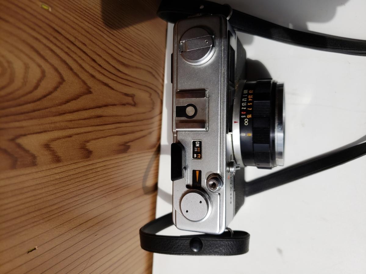 【1円~】OLYMPUS 35DC F.ZUIKO 1:1.7 f=40mm レンジファインダー オリンパス フィルム式_画像4