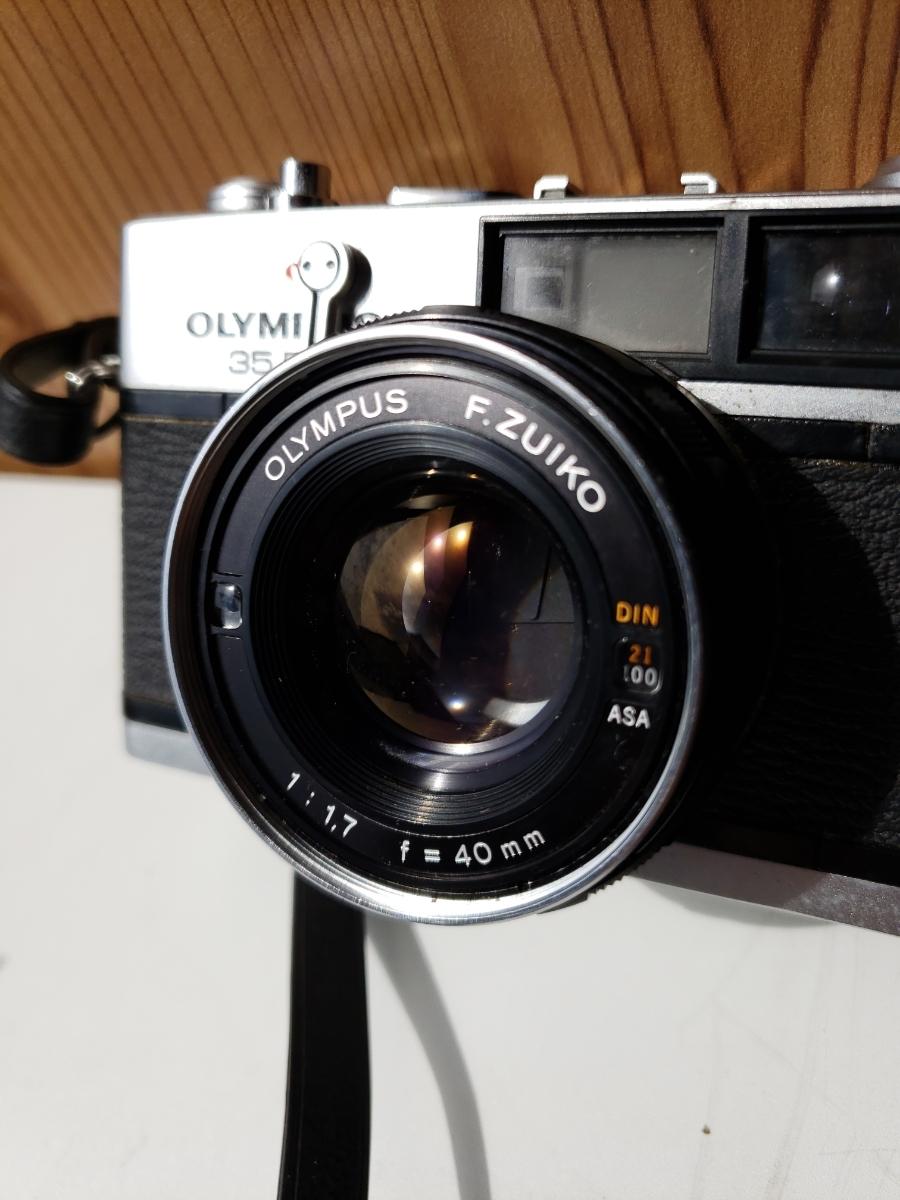 【1円~】OLYMPUS 35DC F.ZUIKO 1:1.7 f=40mm レンジファインダー オリンパス フィルム式_画像3