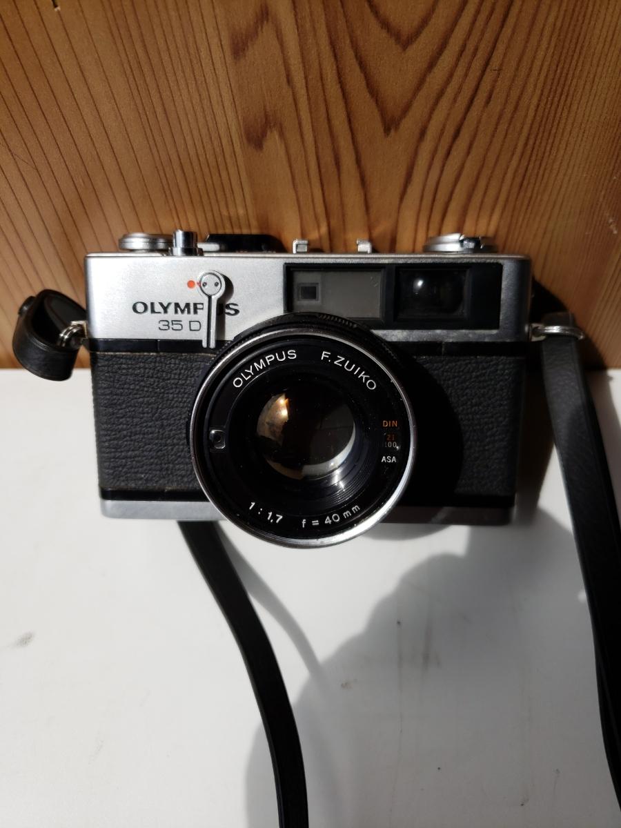 【1円~】OLYMPUS 35DC F.ZUIKO 1:1.7 f=40mm レンジファインダー オリンパス フィルム式_画像2