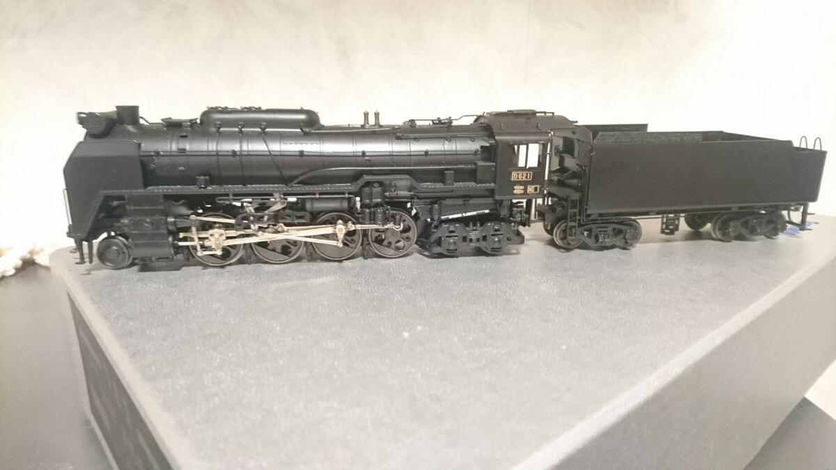天賞堂 真鍮モデル D62 カンモーター、TPE_画像5