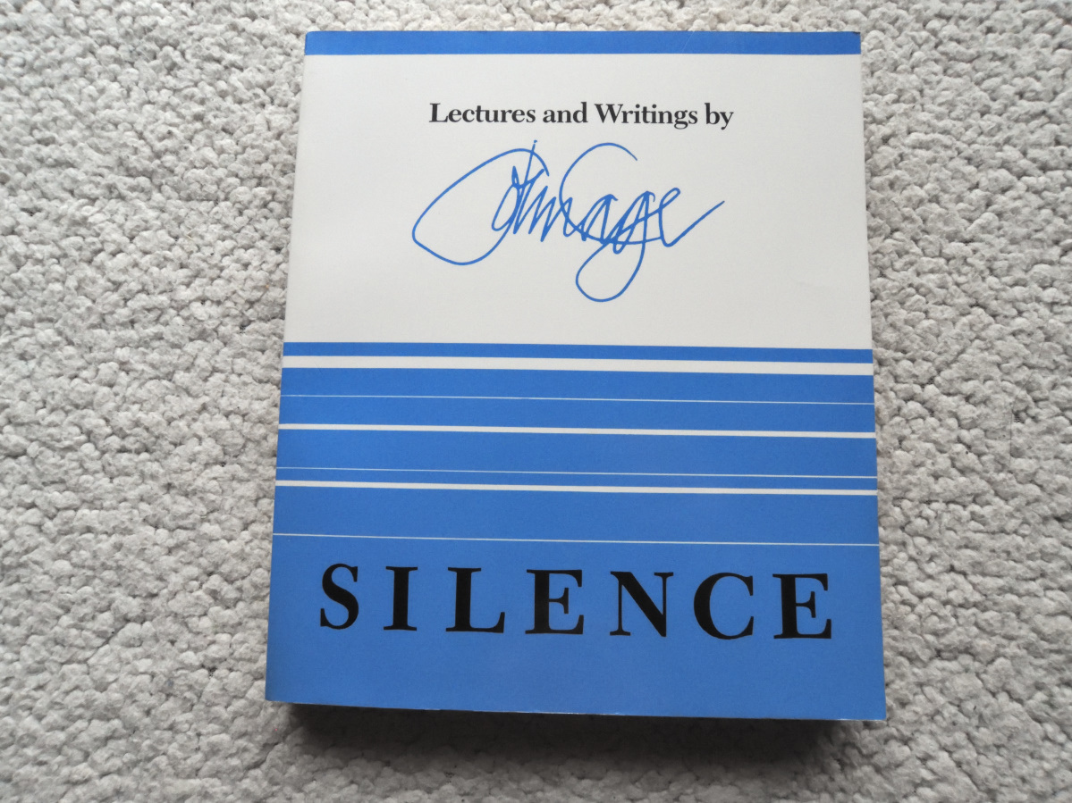 Silence Lectures and Writings  John Cage(著) ジョン・ケージ 洋書ペーパーバック_画像1