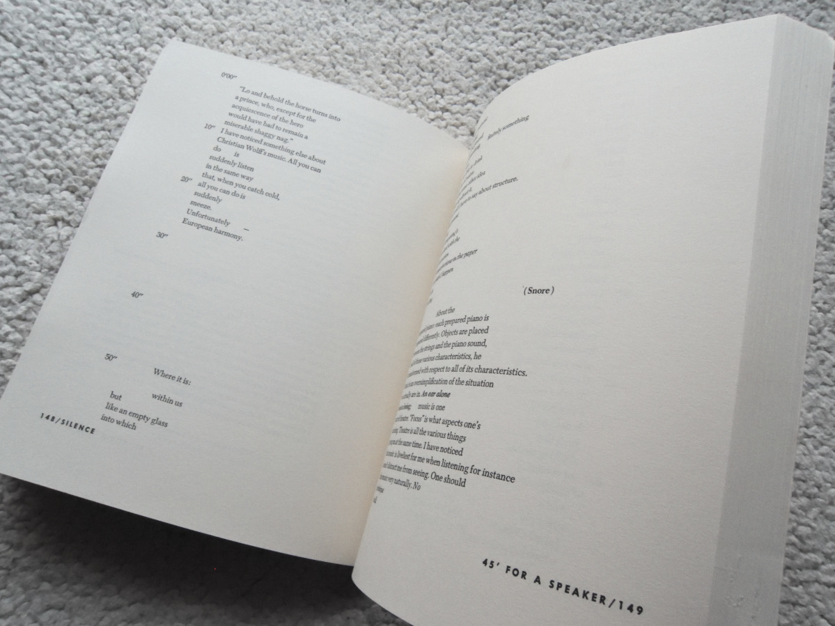 Silence Lectures and Writings  John Cage(著) ジョン・ケージ 洋書ペーパーバック_画像10