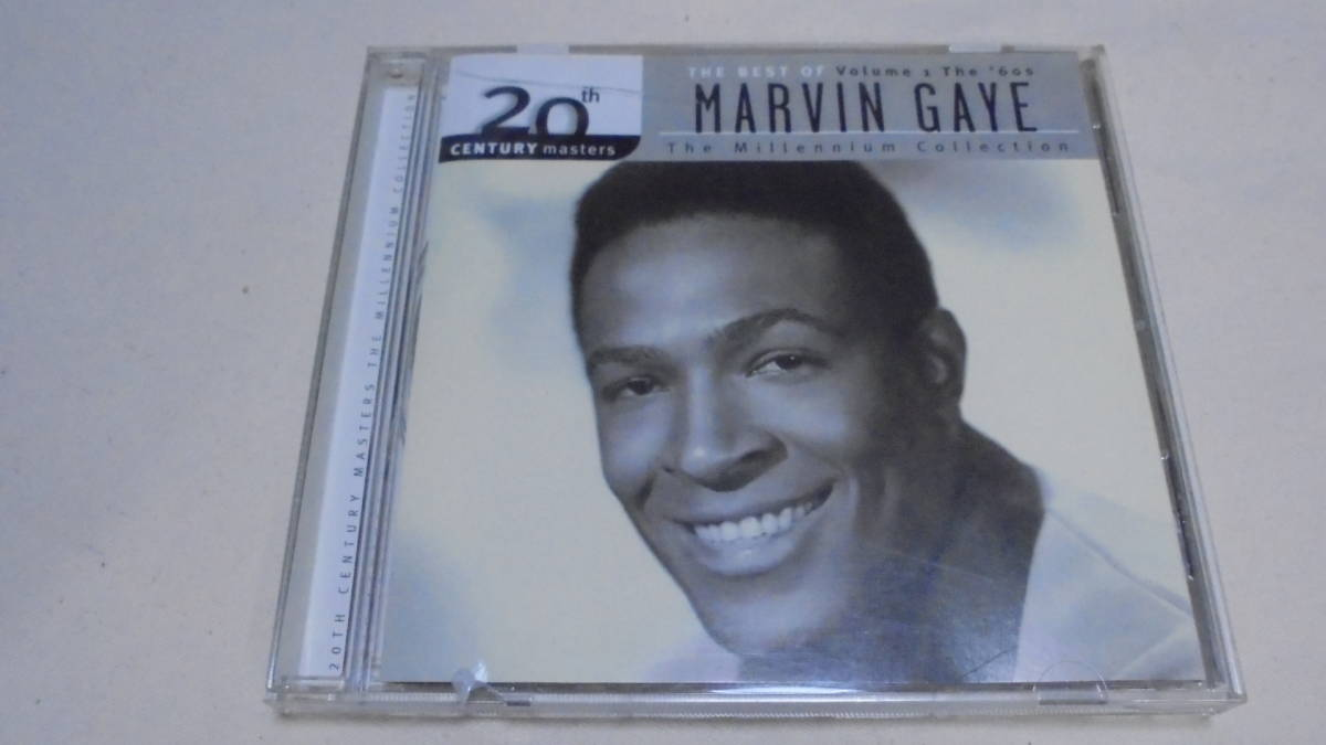 【US盤CD】the best of Marvin Gaye - Volume 1 - The 60's (20th century masters the millenium collection)■マーヴィン・ゲイ/MOTOWN