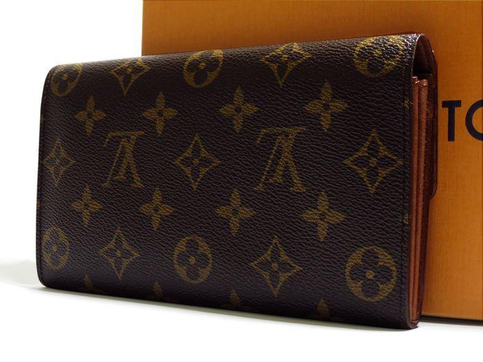 ◆美品◆ルイヴィトン Louis Vuitton 美品 モノグラム ポルトフォイユ サラ 長財布 二つ折り_画像3