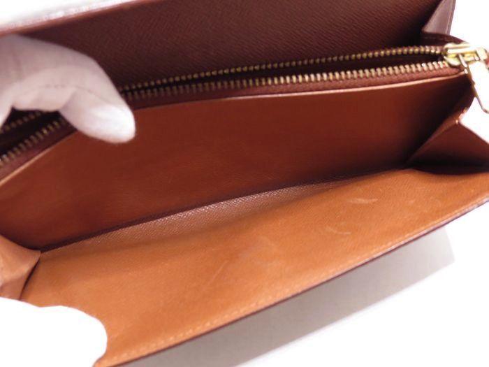◆美品◆ルイヴィトン Louis Vuitton 美品 モノグラム ポルトフォイユ サラ 長財布 二つ折り_画像7